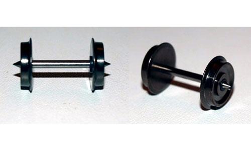Assale 008 n 2 assali h0 in ottone 9 0 mm 24 4 mm x for Valutazione ottone usato
