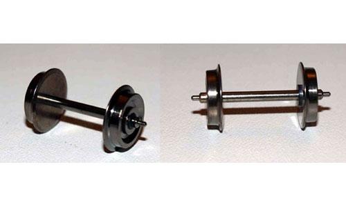 Assale 006 n 2 assali h0 a spillo in ottone 10 4 mm for Valutazione ottone usato