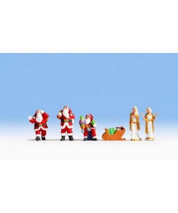 NOCH H0 15920 – Babbo Natale ( 6 pz. )