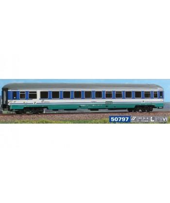 """ACME H0 50797 – Carrozza UIC-X 2^classe Tipo 2000R """"Giubileo"""" XMPR – FS Ep. VI"""