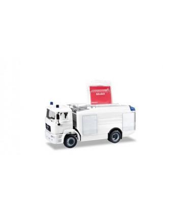 HERPA 013567 – Minikit MAN M 2000 EVO cisterna, bianco – 1:87