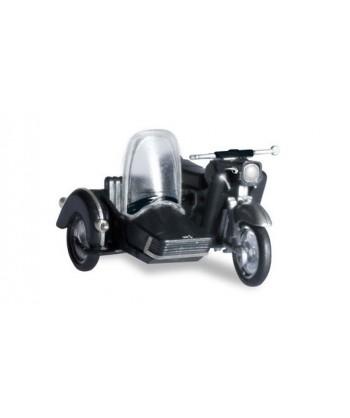 HERPA 053433-004 – MZ 25 moto con sidecar – 1:87