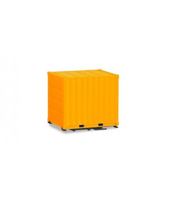 HERPA 053594-002 – n. 2 container 10 ft. (gialli) – 1:87