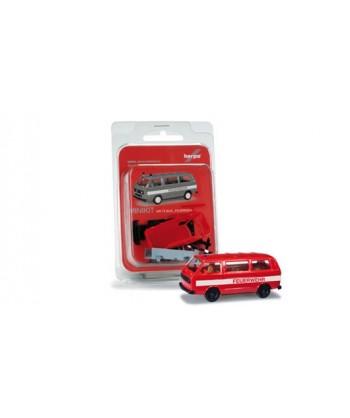 HERPA 012591 – Minikit VW T3 Bus Vigili del Fuoco – 1:87