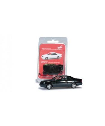 HERPA 012676-002 – Minikit Mercedes 600 SEC (nero) – 1:87