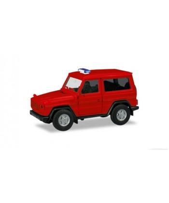 HERPA 013086 – Minikit Mercedes Benz G-Model (rosso) – 1:87