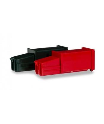 HERPA 076876 – Set 2 container compattatori per immondizia – 1:87