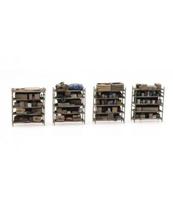 ARTITEC 387.434 – Scaffali con materiali vari – Resina H0