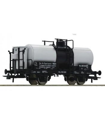 ROCO H0 76692 – Carro cisterna con garitta frenatore – FS Ep. II-III