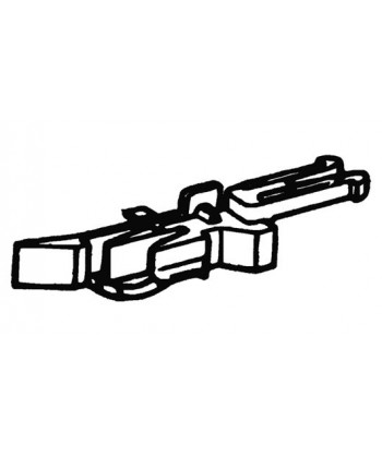 ROCO H0 40270 – Gancio corto con presganciamento (4 pz.)