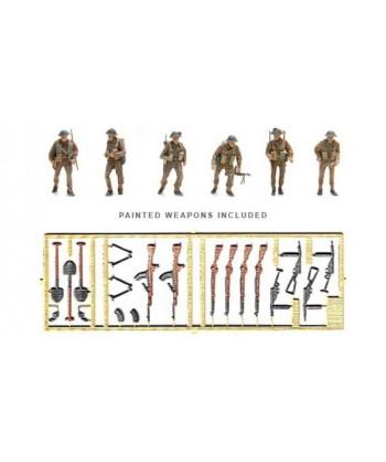 ARTITEC 387.133 – Fanteria Britannica con armi WWII (6 personaggi) – Resina H0