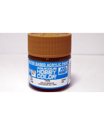 Mr. HOBBY H027 – Vernice acrilica base d'acqua: Marrone bronzo – 10 ml.