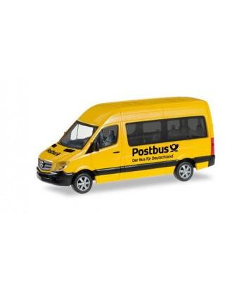 """HERPA 092531 – Mercedes Benz Sprinter '13 """"POSTBUS"""" – 1:87"""