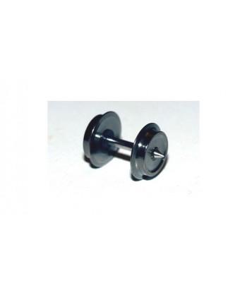 ASSALE 001 DC H0e – n. 2 assali 7,7 mm / 14,7 mm in ottone