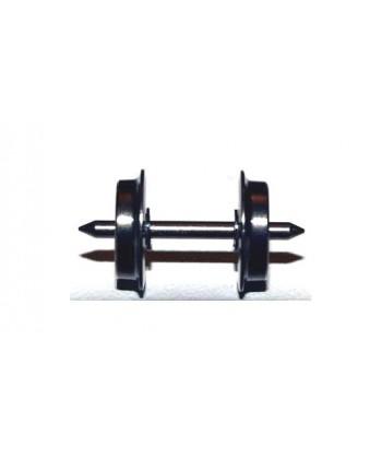 ASSALE 002 DC H0e – n. 2 assali 8,3 mm / 18,5 mm in ottone