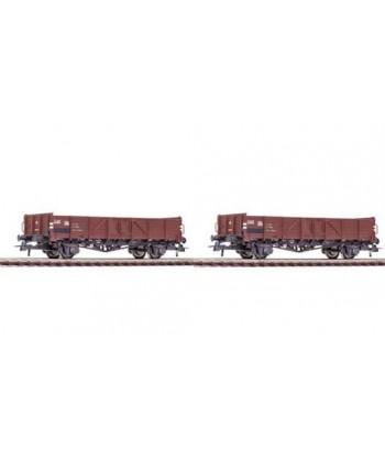 ROCO H0 76112 – Set 2 carri aperti EL (tipo Linz) – OBB Ep. IV