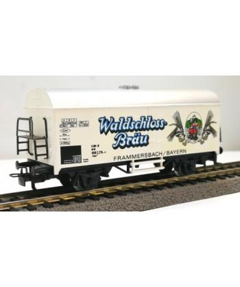 "MARKLIN H0 4415/83025 – Carro frigorifero ""Waldschloss Brau"" – DB *usato* AC"
