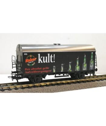 "MARKLIN H0 94047 – Carro trasporto birra ""Kaiser Kult"" – DB *usato* AC"
