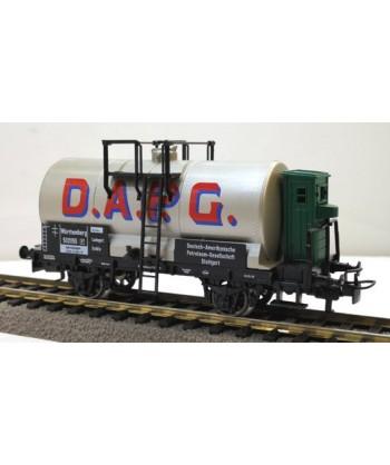 """MARKLIN H0 4674 – Carro cisterna con garitta frenatore """" D.A.P.G."""" – *AC"""