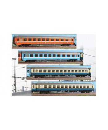 "ACME H0 55182 – Set D Expr. 276/277 ""METROPOLITANO"" 4 carrozze – DB/FS Ep. IV"