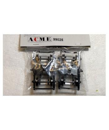 ACME H0 99025 – Coppia carrelli FS MD con assali