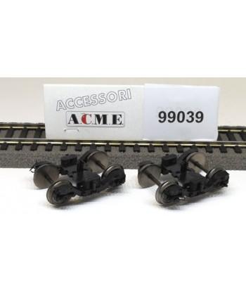 ACME H0 99039 – Coppia di carrelli FIAT 71/95 con ruote