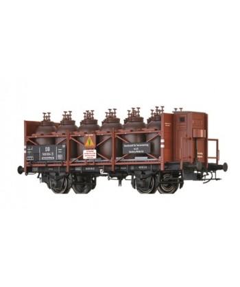 BRAWA H0 49323 – Carro tipo Z per trasporto acidi – DB Ep. III