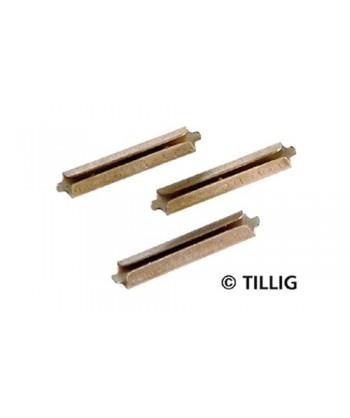 TILLIG 85501 – Giunzioni in metallo brunito per binario (H0-H0e)