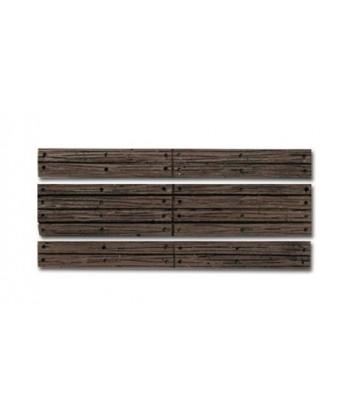 WOODLAND SCENICS C1147 – Passaggio livello in legno senza barriere – H0