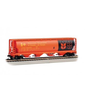"""BACHMANN H0 19134 – Canadian 4-Bay Grain Hopper """"Governement of Canada"""""""