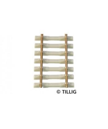 TILLIG H0 85134 – Binario flessibile traversina in cemento 470 mm.