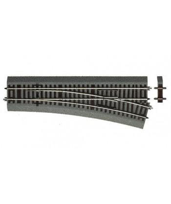 ROCO H0 42533 – Scambio Destro Wr15 (polarizzato) 230 mm ROCOline Cod. 83