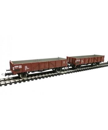 ROCO H0 76100 – Set 2 carri aperti EL 5100 Linz – OBB Ep IV