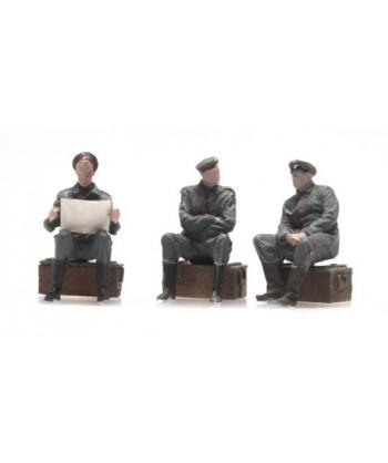 ARTITEC 387.357 – Soldati Tedeschi a riposo WWI – Resina H0