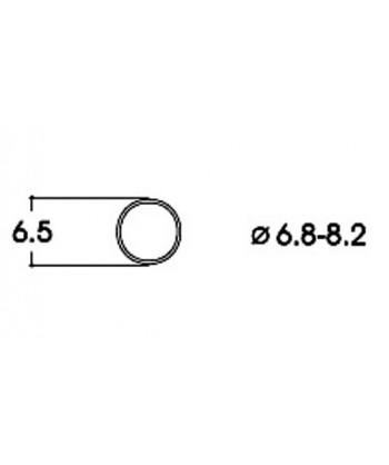 ROCO H0 40067 – Anelli di aderenza 6,8-8,2 mm per locomotive corrente continua