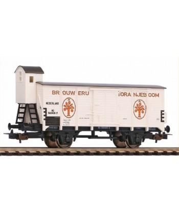 """PIKO H0 58926 – Carro trasporto birra """"D'Oranjeboom"""" – NS Ep. III"""