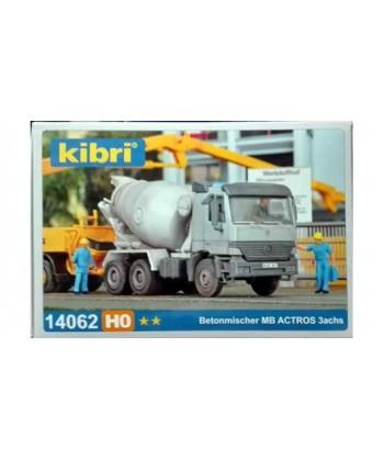 KIBRI H0 14062 – M.B. Actros 3 assi betoniera, in kit – 1:87