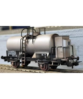 """BLACKSTAR H0 BS00059/S – Carro cisterna Mnd """"Soc. Chimica dell'Aniene"""" – FS Ep. III *invecchiato*"""