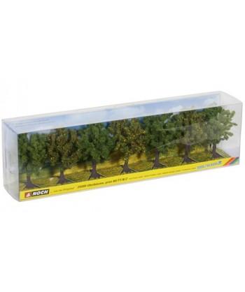 NOCH H0 25090 – set 7 alberi frutta verdi (8 cm)