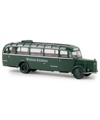 "BREKINA 58075  – Saurer BT 4500 autobus ""WIENER EXPRESS"" – 1:87"