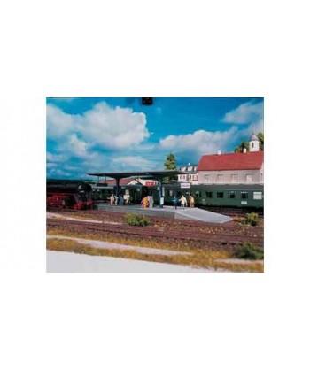 PIKO H0 61821 – Pensilina Stazione Burstein in kit