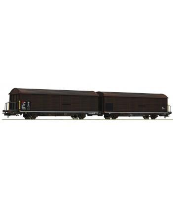roco 76152 - coppia carri Hilrrs - SBB VI