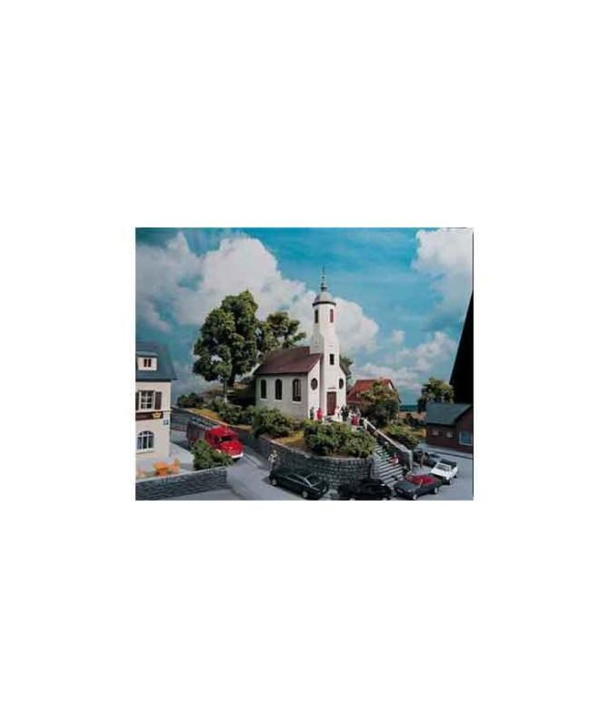 PIKO H0 61825 – Chiesa St. Lukas in kit