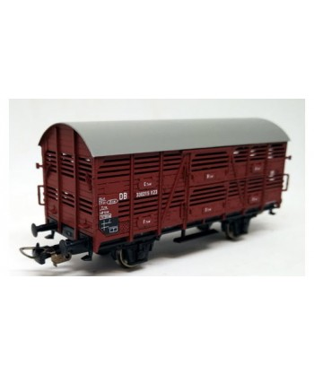 PIKO H0 54032 – Carro trasporto bestiame – DB Ep. III