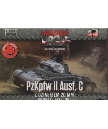 1/72 FIRST TO FIGHT PL 010 – KIT CARRO ARMATO PzKpfw II Ausf.C