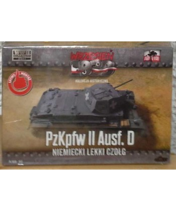 1/72 FIRST TO FIGHT PL 012 – KIT CARRO ARMATO PzKpfw II Ausf.D