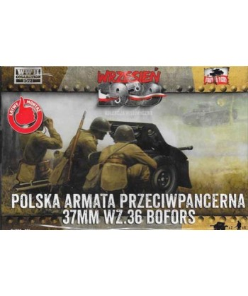 1/72 FIRST TO FIGHT PL 025 – KIT CANNONE BOFORS 37 mm. (2 pz)