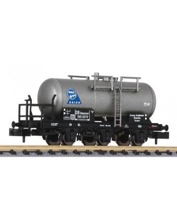 "LILIPUT Scala N 265499 – Carro cisterna 3 assi ""B.B.O. ORION"" – DB Ep. III"