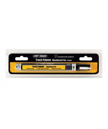 WOODLAND SCENICS TT4582 – Track Painter Weathered Tie