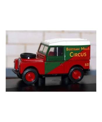 """OXFORD 76LAN188017 – LAND ROVER 88 Serie 1 """"CIRCUS BERTRAM""""- 1:76"""